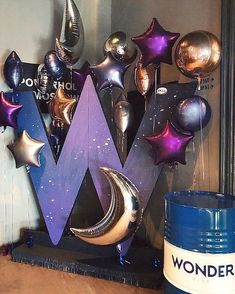Party Fiesta Color Schemes 41 Ideas For 2019 – Galaxy Art Birthday Party Tables, Birthday Party Decorations, Wedding Decorations, Balloon Garland, Balloon Decorations, Deco Ballon, Outer Space Party, Fiesta Colors, Galaxy Theme