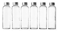 Amazon.com: Epica 18-Oz. Glass Beverage Bottles, Set of 6: Kitchen & Dining $29.95 Prime