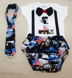 Rylowear Navy cake smash outfit Navy outfit 1st 2nd 3rd Birthday Military Air force Marines by RYLOwear, $12.00+