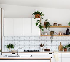 Our kitchen ideas - check out todays post to find out our kitchen inspiration to make our own! Chek it out at notiepad.com