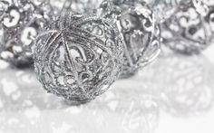 Wonderful Silver Unique Design Christmas Ornaments Home Interior ...