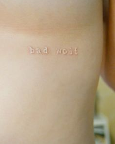 White Ink Tattoo - if I can one day brave the pain, I'd love to get one! (wording tbd)