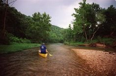 Marcus Maggard has spent most of his life exploring the beauty of the Ozarks in a canoe on the Current River.