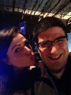 Lana Parrilla and Adam Horowitz
