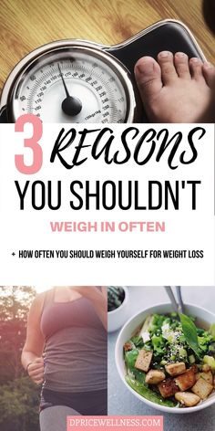 Weighing yourself an important part of the weight loss journey, but if you're doing it too much you could be hurting your chances. Learn about the pros and cons of weighing yourself, plus how often you shold weigh yourself for weight loss. #weightloss #weightscale #loseweight