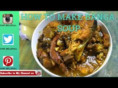 This Soup is amazing, I can't even explain. Banga soup is a delicious palm nut soup linked to the Deltans ( Delta State). Healthy Grilling, Grilling Recipes, Cooking Recipes, Healthy Recipes, Nigerian Soup Recipe, African Stew, Ghana Food, Grilled Fish Recipes, Smoked Chicken