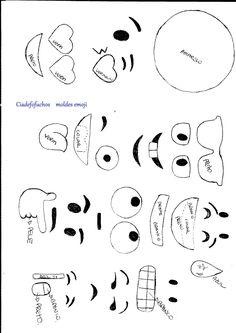 moldes+emojis.jpg (1132×1600)