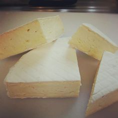 Todmorden Brie - artisan cheese available later in 2013 from the Pextenement Cheese Company.