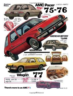 AMC Pacer American Car Spotter Tad Burness. I had a '77 wagon. Now we have a '78 wagon waiting in the garage to be reborn. I can't wait.