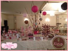 XV Candy Buffet