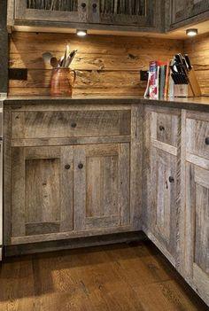 la cuisine en bois massif en beaucoup de photos! | photos et cuisine - Meuble Cuisine En Bois Massif
