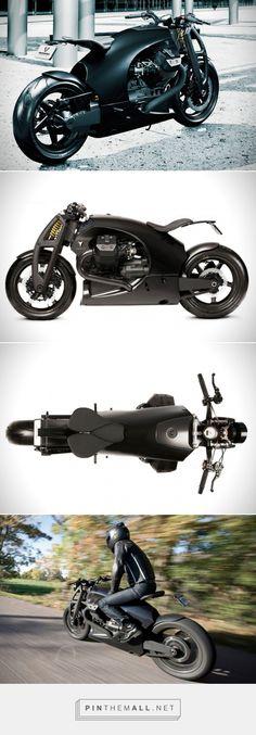 Renard Motorcycles' Carbon Fiber Moto Guzzi GT Is Amazing