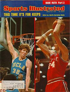 5fd89bf655c Bill Walton - UCLA and Tom Burleson - NC State College Basketball