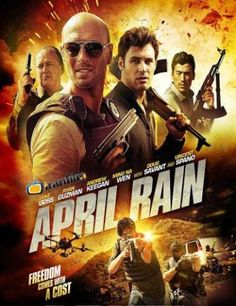 Poster Of Hollywood Film April Rain (2014) In 300MB Compressed Size PC Movie Free Download At downloadhub.net