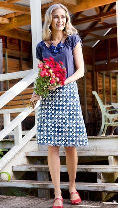 THAT BIRD LABEL - Adele Skirt   #thatbirdlabel #tuttifruitti #spring #pattern #print #skirt #fashion