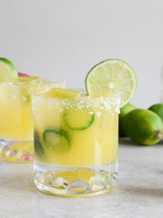Mango Jalapeno Margs - Invite some friends over for the perfect get-together