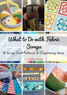 For the best scrap fabric ideas in quilting, take a look at these designs!