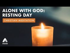 Alone With God: Resting Day Meditation Youtube, Meditation Apps, Christian Meditation, Rest Days, Comparing Yourself To Others, Multiple Sclerosis, Alone, Self Care, Psalms