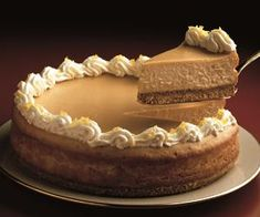 Butterscotch Cheesecake from Eagle Brand® Sweetened Condensed Milk