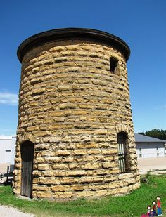 Round Jail in Wilson, Kansas Kansas Usa, State Of Kansas, Kansas City, Fort Riley, Land Of Oz, Home On The Range, Unique Buildings, Water Tower, Abandoned Places