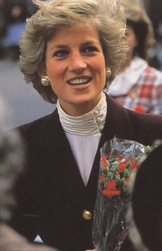 Princess Diana - Neat collar idea