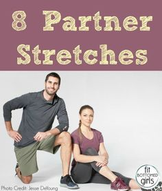 It might feel like playing Twister, but these partner stretches are a great addition to any workout or fitness routine!