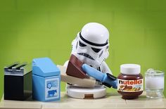 """Stormtrooper's breakfast"""