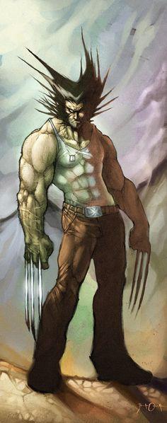 A great Wolverine piece by Goretoon