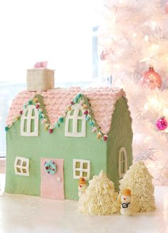 Putz Houses (those miniature Christmas village homes made of cardboard they sell just about everywhere during this time of year!) have always been one of my favorite things. My family's holiday dec...