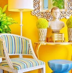 Ready For Spring?  We are loving  yellows and blues!