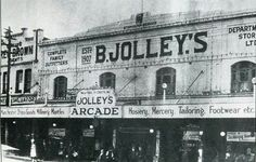 Bert Jolley's in Hurstville, southern suburb of Sydney (year unknown).