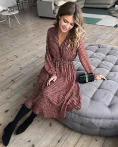 Muslim Fashion 808325833106778222 - 67 Ideas sewing clothes winter shirts Source by hugopontius dress Source by MMayraSwaniawskiFashion Dress Outfits, Winter Outfits, Casual Outfits, Cute Outfits, Woman Outfits, Trend Fashion, Look Fashion, Autumn Fashion, Fashion Design