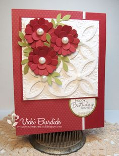 Stampin' Up! Birthday  by Vicki Burdick at It's a Stamp Thing