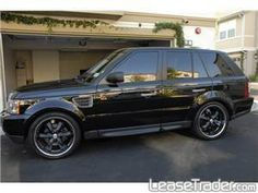range rover sport hse -- All Black everything!!