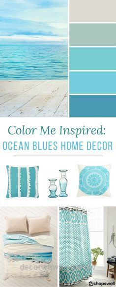 Lovely Blue ocean tones are the inspiration behind this summer home decor collection. Decorate your beach house or simply give your living space a warm-weather makeover.  The post  Blue ocean tones are the inspiration behind this summer home decor collection. D…  appeared ..