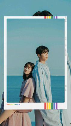 Korean Drama Romance, Korean Drama List, Korean Drama Movies, Korean Actors, Boy And Girl Friendship, Art Love Couple, We Bare Bears Wallpapers, Ulzzang Couple, Couple Cartoon