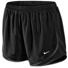 Nike Womens Tempo Short in Black