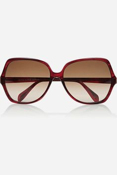 4a58721dbd OLIVER PEOPLES LAINIE SUNGLASSES  295 Red Square Frame Made In Italy   OliverPeoples  Square Oliver