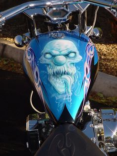 Skull on HD Tank - Share your Airbrush Images on the TOP Pin Galleries: promote and rate your Images,discover the lates uploads! - www.JustAirbrush.com