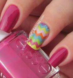 I want these chevron nails so bad