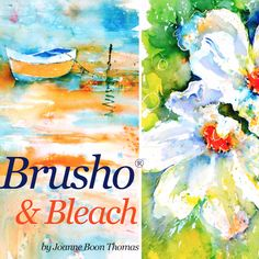 In a follow-on to her hugely popular Brusho® Secrets course, Joanne shows you how to use household bleach in combination with your Brusho® paint crystals to create a range of unique effects.