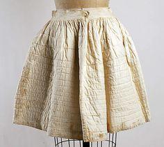 Petticoat  Date: 1870s Culture: American