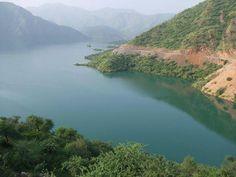 Beautiful view of Tarbela Lake.