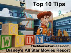 Disney's All Star Movies Resort Top 10 Tips #TravelTips #DisneyResort