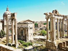 A million steps around Rome in one day by Wanderlust Storytellers. - The Roman Forum