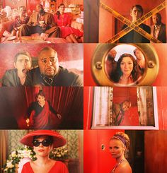 Pushing Daisies in Red