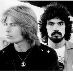 Daryl Hall and John Oates | Formed in 1970 | Inducted into the Songwriters Hall of Fame in 2003 | Inducted into the Rock and Roll Hall of Fame in 2014 | Billboard magazine listed them at No. 15 on their list of the 100 greatest artists of all time