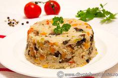 PILAF SARBESC | Diva in bucatarie Baker Recipes, Cooking Recipes, Gluten Free Lasagna, Quiche, Dairy Free, Diva, Easy Meals, Vegan, Breakfast