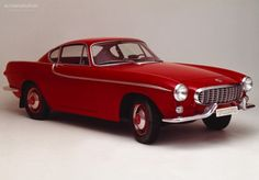 My friend Kjell owned a red Volvo P1800 we used to pick up girls with, back in the early 70s. Since I was having my ladys in the back seat, where there specific requirements of their sizes - it ended up with the fact that I was given a very small sized wife. Thanks Kjell ( now I can´t find her)