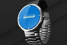 Smart-watch Design Mockup by illustr8ed on @creativemarket